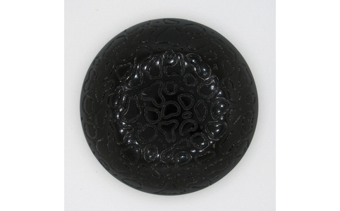 40mm Black textured Chaton Cab57