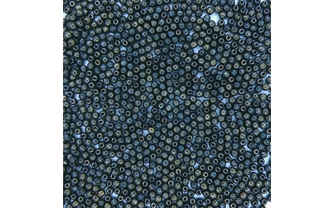 100 x 2mm round beads in Bronze Picasso