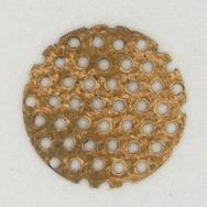 M72 - 1.6cm round sieve in Brass (1950s)