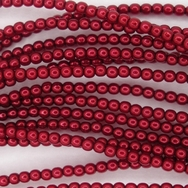 50 x 2mm pearls in Falu