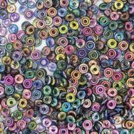 3g O beads in Magic Blue