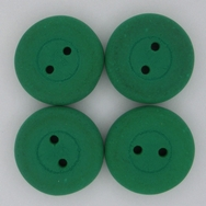 16mm glass button in Neon Dark Green