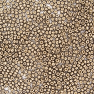 10g Size 11/0 Duracoat Galvanised Pewter Miyuki seed beads 4222