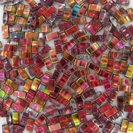 5g Half Tila beads in Magic Wine (HTL4573)