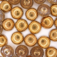 Cab84 - 12mm cabochon in Gold (Vintage)