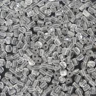 50 x 3mm three cut beads in Crystal