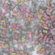 5g Half Tila beads in Matt Crystal Vitrail (HTL4557)