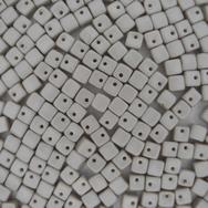 25 x Crisscross Cubes in Pastel Grey