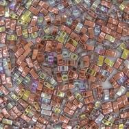 5g Half Tila beads in Copper Rainbow (HTL55020)