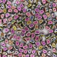 5mm Es-o beads in Full Black Vitrail