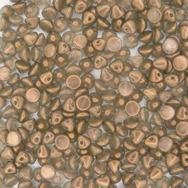 25 x button beads in GT Champagne