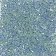 24 x 4mm bicones in Provence Lavender Chrysolite Blend (Swarovski) 726