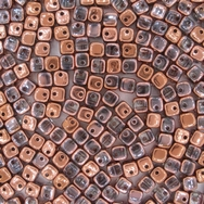 25 x Crisscross cubes in Capri Gold