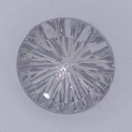 15mm German cabochon in Crystal