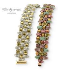 Kilim Cuff bracelet by Carole Ohl