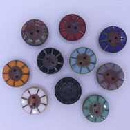 Pack of 10 x 14mm table cut buttons