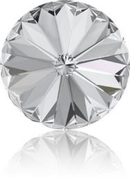 14mm Rivoli in Crystal (Swarovski) 001
