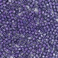50 x 3mm faceted beads in Tweedy Violet