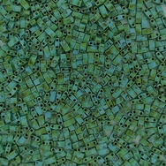 5g Half Tila beads in Seafoam Green Picasso (HTL4514)