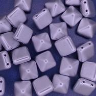 2 x 12mm pyramids in Aluminium Silver