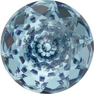 18mm Dome Crystal in Aquamarine (Swarovski)