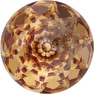18mm Dome Crystal in Light Colorado Topaz (Swarovski)
