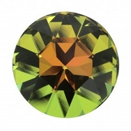 27mm Crown Stone in Crystal Sahara (Swarovski)