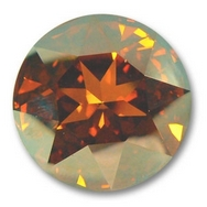 27mm Crown Stone in Crystal Chilli Pepper (Swarovski)