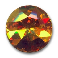 27mm Crown Stone in Crystal Brandy (Swarovski)