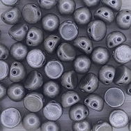 10 x CzechMate cabochons in Saturated Metallic Sharkskin