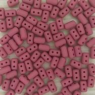 10g rulla beads in Matt Wine Silk