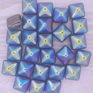 2 x 12mm pyramids in Gunmetal AB
