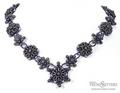 Purple Passion Necklace by Stefanie Deddo-Evans