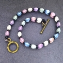 Bead and Clasp kit for Pinch of Elegance in Spring Mix