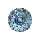14mm Dome Crystal in Aquamarine (Swarovski)