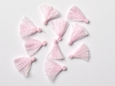 Pair of 1.7cm Cotton tassels in Pink