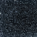 401F - 5g x 1.8mm Miyuki cubes in Matt Black