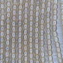 35 x 6mm round beads in Transparent Champagne