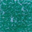 25 x 4mm Czech bicones in Emerald