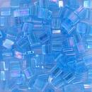 TL260 - 5g Tila beads in Transparent Aqua AB