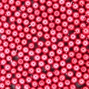 50 x 4mm Red pearls from Preciosa 70495