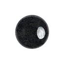 14mm Cabochon par Puca in Black Hematite