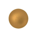 14mm Cabochon par Puca in Matt Bronze Gold