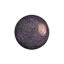 14mm Cabochon par Puca in Ceramic Look Amethyst and Gold