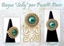 Sally ring by Les perles par Puca
