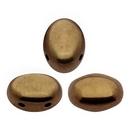 20 x Samos par Puca in Dark Gold Bronze