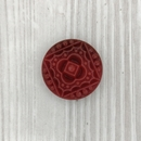 22.5mm cabochon in Red