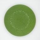 40mm Green textured Cabochon Cab59