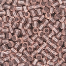 50 x 5mm round beads in Rose
