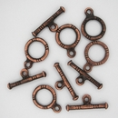Old Copper Toggle clasp